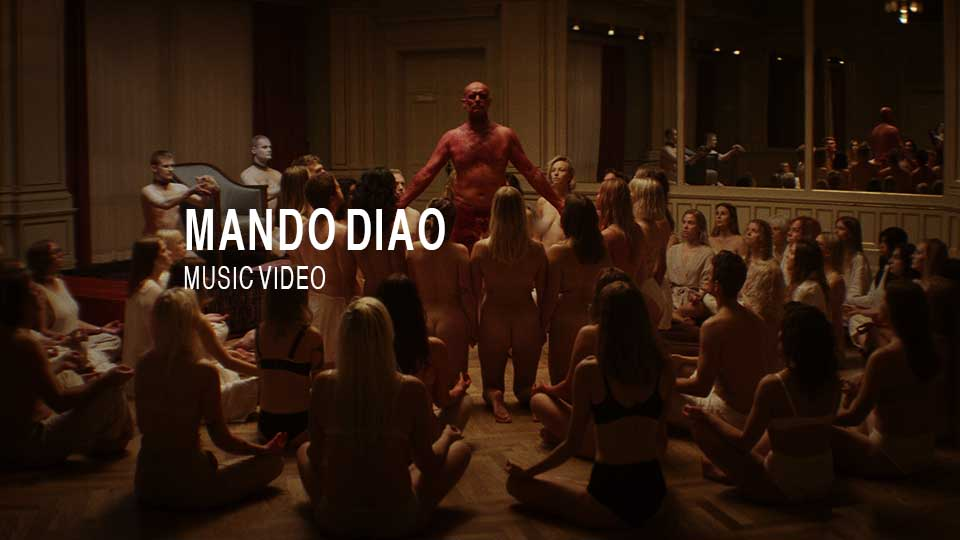 Mando Diao music video for song don't tell me